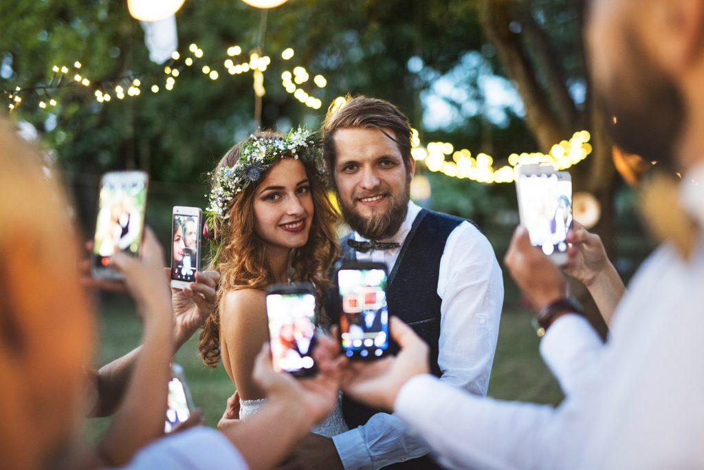 Hochzeitsbilder an einem Ort sammeln. Jetzt auch zum verschenken